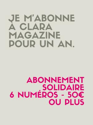 Abonnement solidaire (50€ et plus)